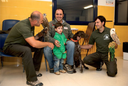 La Federación Navarra de Caza organiza «El Aula de la Naturaleza», un programa docente para niños