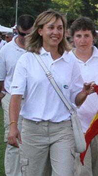 Beatriz Laparra, campeona del mundo de recorridos de caza