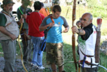 El buen ambiente protagonista del Campeonato de Euskadi de Recorridos de Caza con Arco