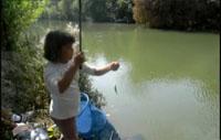 Concurso de pesca infantil de Orión