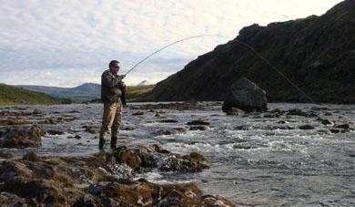 Pescar en el Valhalla