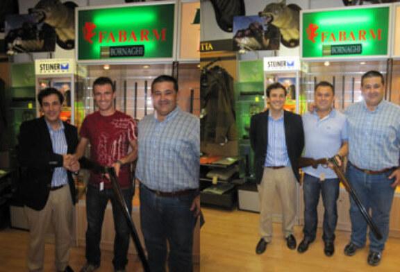 Los ganadores de una escopeta Fabarm