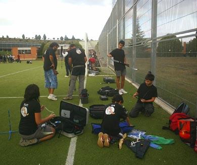 Navarra cuenta con una nueva escuela de tiro con arco para los más jóvenes