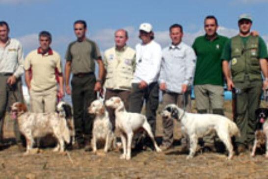 Iván García y su perra «Tessy» campeones de la I Copa Ibérica de caza San Huberto