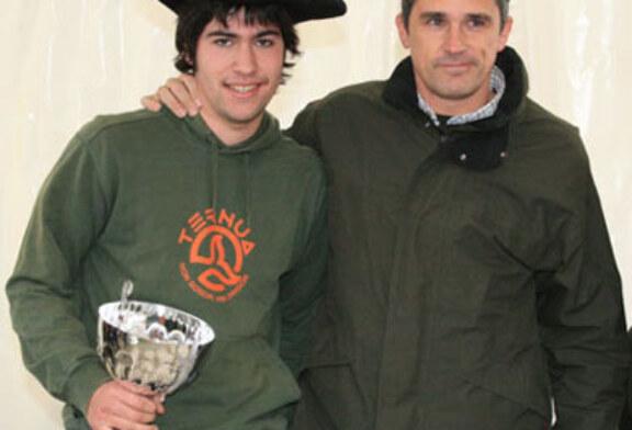 Mikel Iturralde se proclama campeón de Euskadi de Caza Menor con Perro
