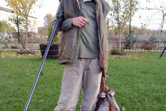 El joven cazador Aitor Intxausti