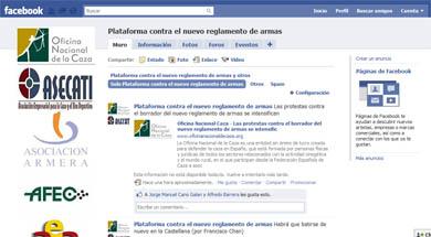 Se crea una nueva plataforma en Facebook para protestar contra el Reglamento de Armas