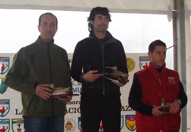Otro aragonés en el podio: Xabier Arizabalaga, campeón estatal de caza de becada