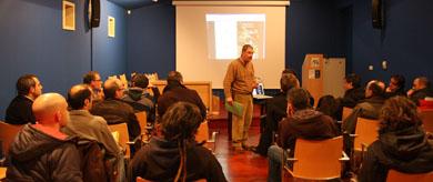 """Fedenca y el CCB celebran el Seminario de anillamiento del """"Proyecto Becada"""""""