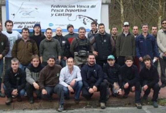 Excelente comienzo de año para la Federación Vasca de Pesca Deportiva