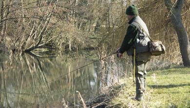 Comienza la temporada de pesca en la Región Salmonícola Mixta de Navarra