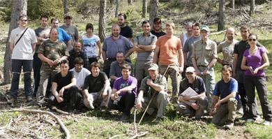 Primer campeonato de perros de rastro sobre jabalí salvaje