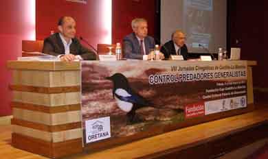 Exhaustivo análisis sobre el control de predadores en unas jornadas en Castilla-La Mancha