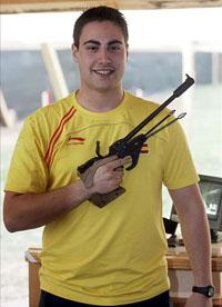 El bilbaíno Pablo Carrera gana una plaza de Tiro Olímpico para Londres 2012