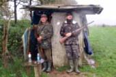 De caza con el aita
