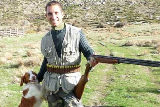 El cazador zamorano Lucas Arribas, campeón de Castilla y León de Caza Menor con Perro