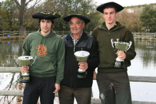 El bizkaino Mikel Iturralde defenderá el título de Euskadi de menor con perro el domingo