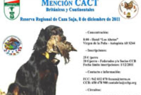 Homenaje a la modalidad CACT sobre becadas sin muerte en la Reserva de Saja
