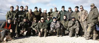 Hoy finaliza la inscripción del Campeonato navarro de caza menor con perro por sociedades