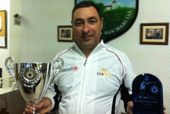 El tirador Mikel Arizaga se lleva a casa la Copa Gipuzkoa 2012