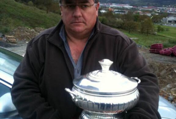 Salvador Franco, nuevo campeón de Euskadi de Mini Foso