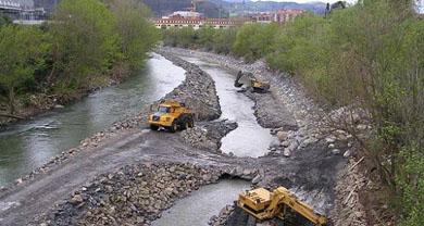 Un estudio analizará los focos de contaminación en la cuenca del Ibaizabal