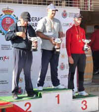 Xabier Azpeitia vencedor absoluto del estatal de Mini Foso