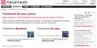 Navarra modifica el sistema de renovación de la licencia de caza