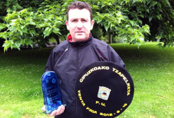 Txema Zalacain, vencedor del Campeonato Gipuzkoa de Foso Universal