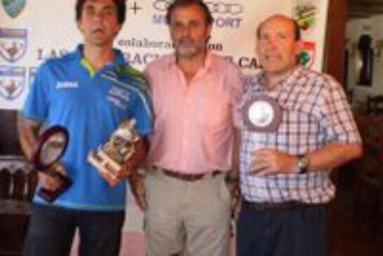 El setter inglés «Sire» y su dueño José Arturo García, campeones cántabros de San Huberto