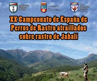 Todo listo para el Campeonato de España de Perros de Rastro Atraillado sobre Jabalí
