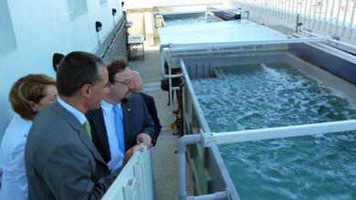 Inauguración de la estación marina de Plentzia