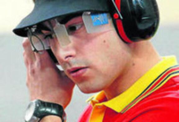 El bilbaíno Pablo Carrera compite en la Copa del Mundo ISSF de Pistola y Carabina