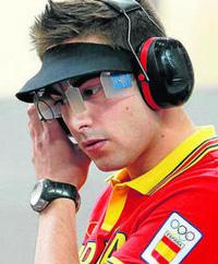El tirador bilbaino Pablo Carrera, sexto en la final