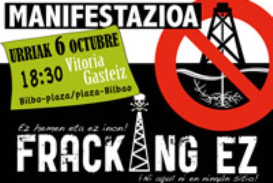 Sociedades de caza alavesas participarán en una manifestación Antifracking