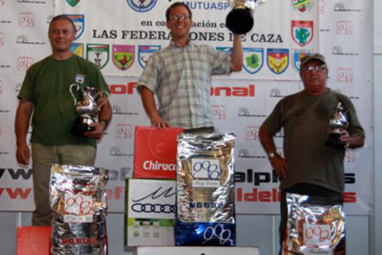 Vicente Lisarde, Julián Olaya y Eva Rius campeones estatales de San Huberto