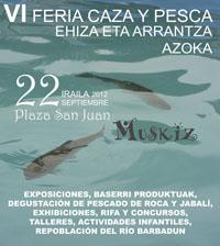 Cetrería, perros de caza, tiro con arco y carabinas este sábado en Muskiz