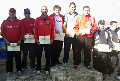 Triunfo del equipo vasco en el Campeonato de España Absoluto de F.U.