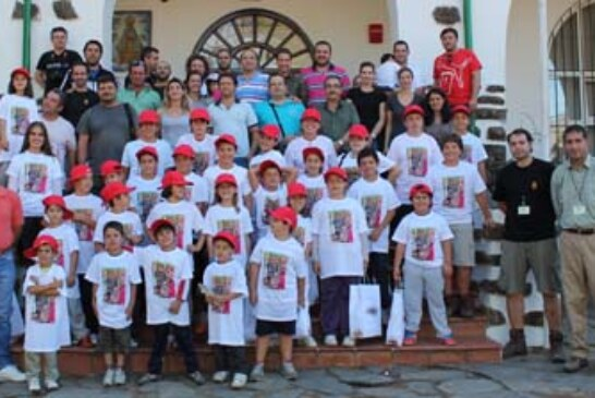 Los niños fueron protagonistas del II Campamento de Educación Cinegética y Medioambiental