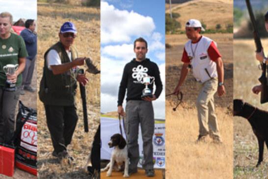 Los competidores españoles luchan hasta el final en el mundial de San Huberto y Perros de Muestra