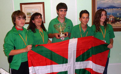 La Selección de Euskadi Medalla de Bronce en el XX Campeonato de España Mar Costa U-16