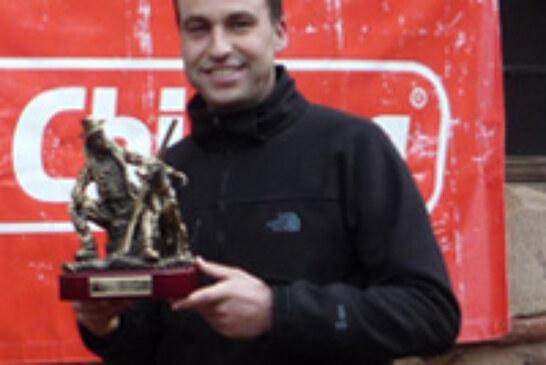 José Antonio Fernández del Campo, campeón riojano de Caza Menor con Perro