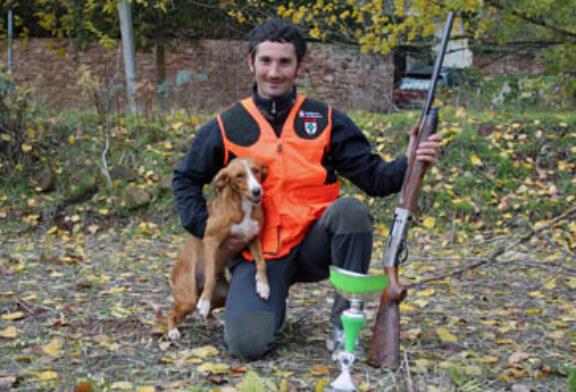 José Félix Fernández obtiene la victoria en el autonómico navarro de menor con perro