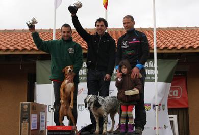Arkaitz Egaña, campeón estatal de menor con perro