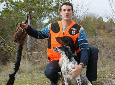 Gorka Goñi consigue el primer puesto en el autonómico navarro de caza de becadas