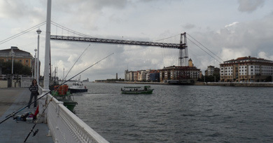 El Maratón de Bizkaia de Pesca se celebra este fin de semana en Portugalete