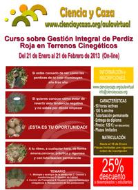 Ciencia y Caza organiza el Curso sobre Gestión Integral de Perdiz Roja en Terrenos Cinegéticos