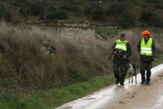 Arrancan los intersociales de caza menor con perro en Buruntz-Azpi, La Unión y Azeri