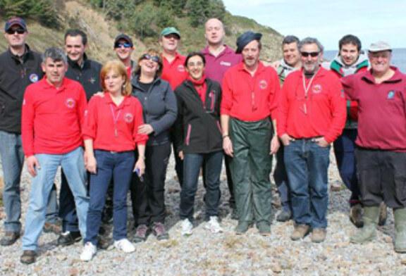 Ocho clubes de Bizkaia participaron en el I Open de Pesca desde Roca