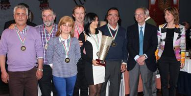 Emotivo homenaje a los deportistas bizkainos en la Gala federativa de la pesca